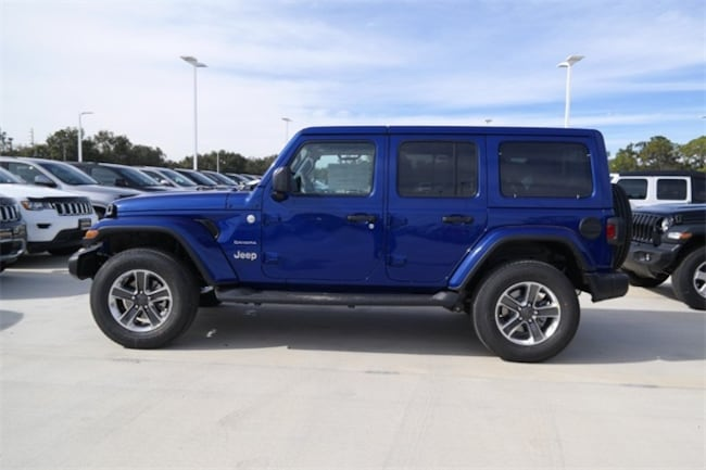 New 2019 Jeep Wrangler Unlimited Sahara 4x4 For Sale Clermont