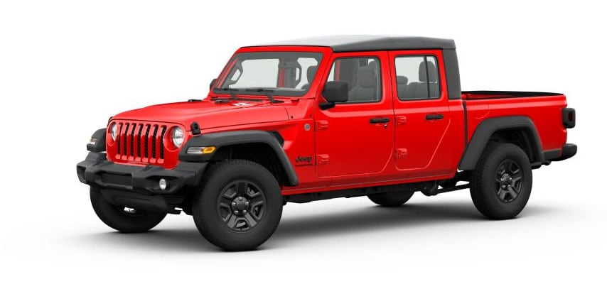 Firecracker Red Jeep Gladiator For Sale in Clermont