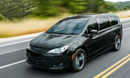 Black Chrysler Pacifica For Sale Clermont FL
