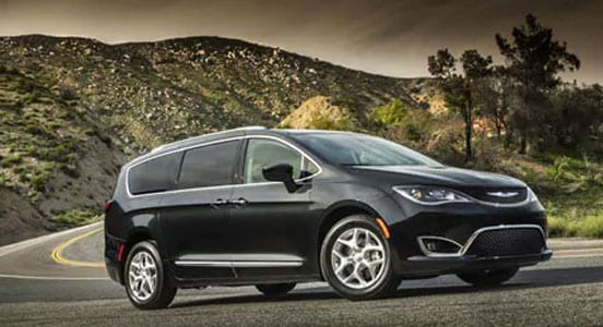 Chrysler Pacifica Color Options