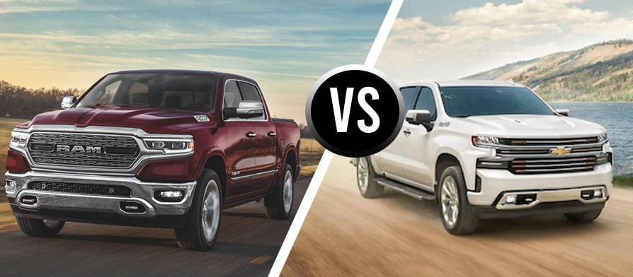 new ram 1500 vs chevy silverado comparison