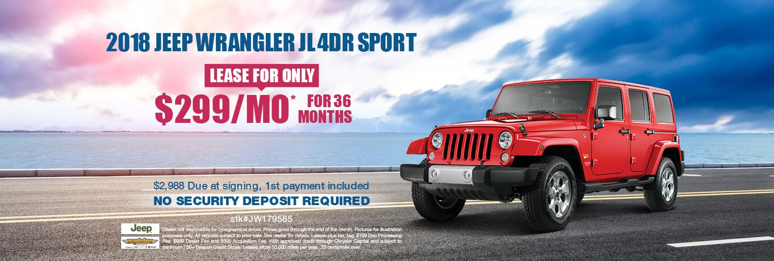 Clermont Jeep Wrangler Deals