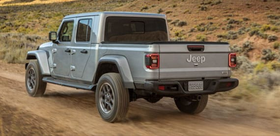 Jeep Gladiator Bed Size