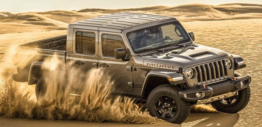 Jeep Gladiator Mojave in Clerfmont
