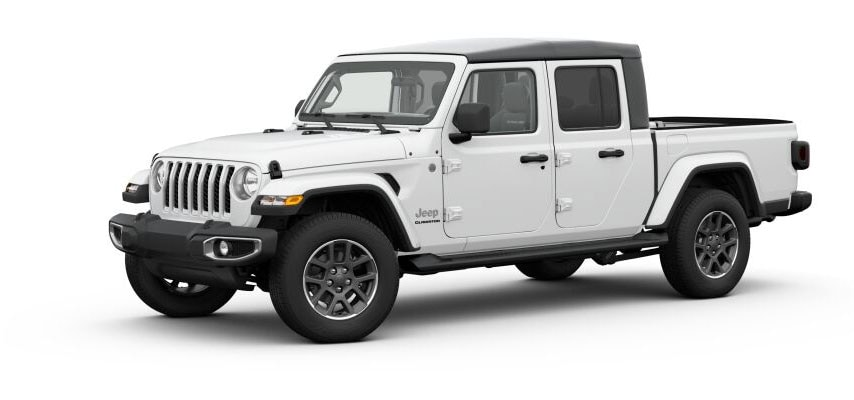 Bright White Jeep Gladiator For Sale in Clermont Florida