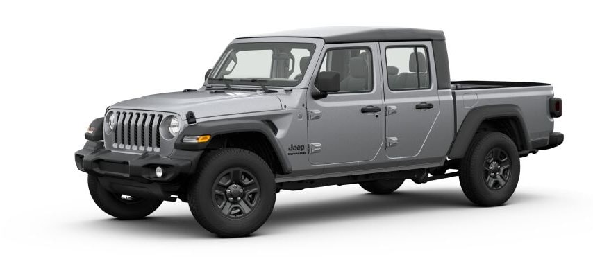 Billet Silver Metallic Jeep Gladiator For Sale in Clermont Florida