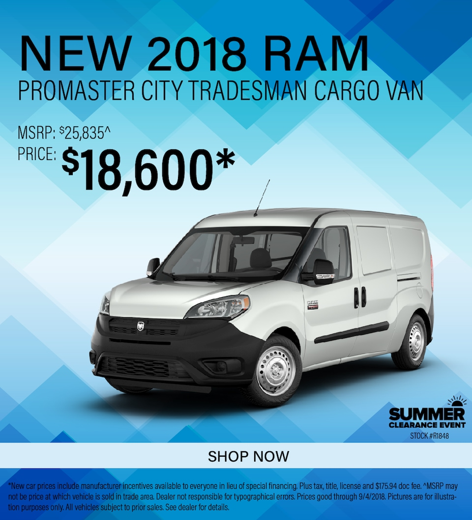 2018 Ram ProMaster City