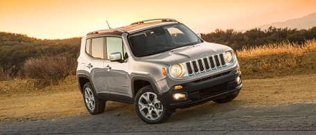 Jeep Renegade - Model Research