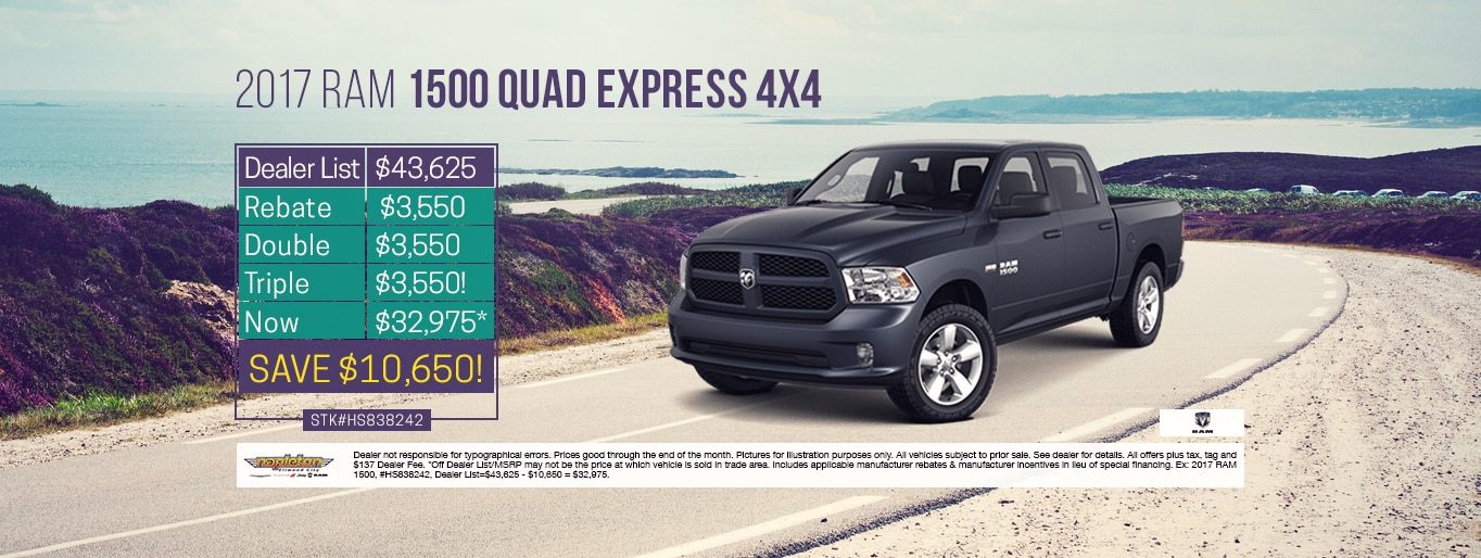 Ram 1500 Lease Special