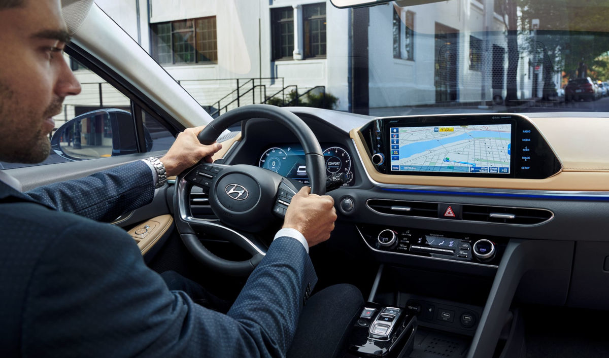 2020 Sonata Dashboard Interior Photo
