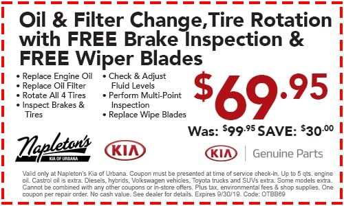 Service Specials - Service Offers & Coupons | Napleton's Kia