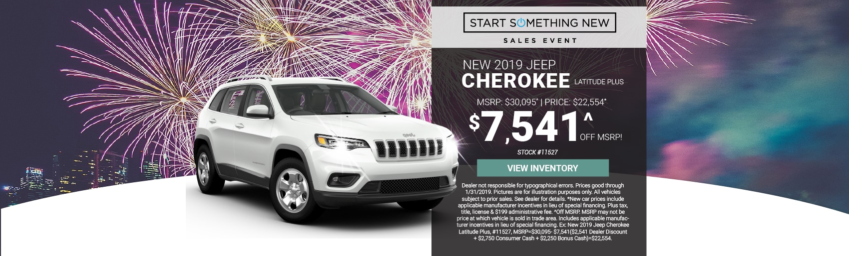 Jeep Cherokee SUV Sale St Petes Lease Deals