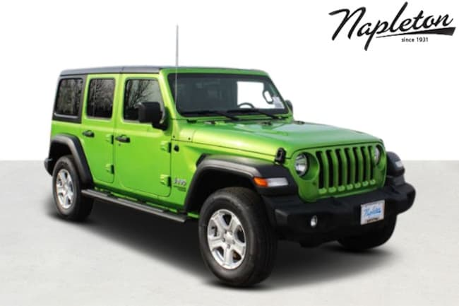 2018 Jeep Wrangler UNLIMITED SPORT S 4X4 Sport Utility in St. Peters MO