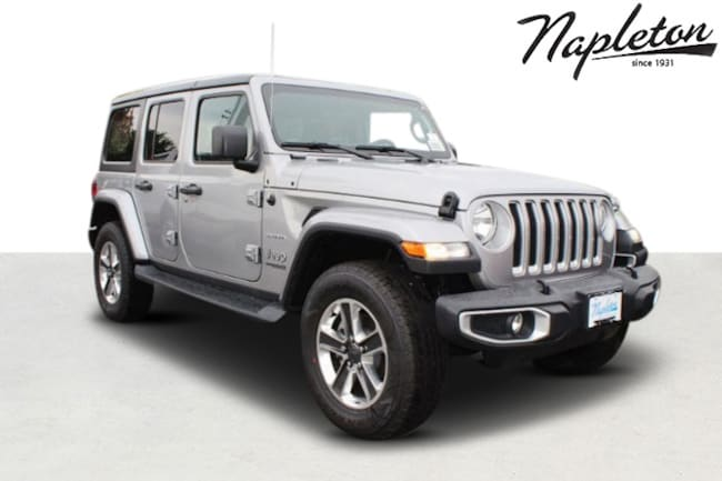 2018 Jeep Wrangler UNLIMITED SAHARA 4X4 Sport Utility in St. Peters MO