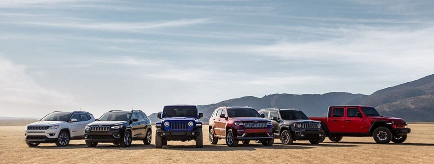Jeep SUV Models St. Peters