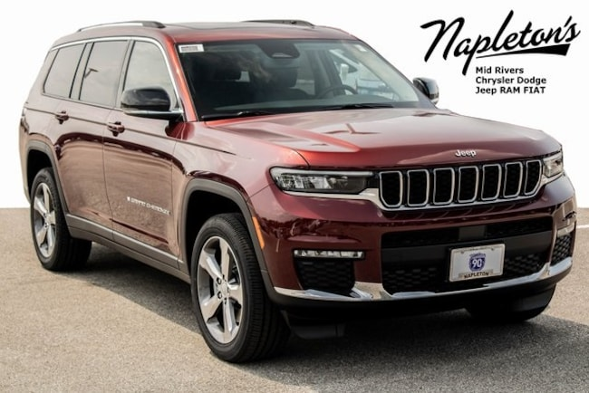 2021 Jeep Grand Cherokee L LIMITED 4X4 Sport Utility in St. Peters MO