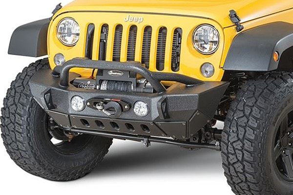 Jeep Wrangler Front Bumper