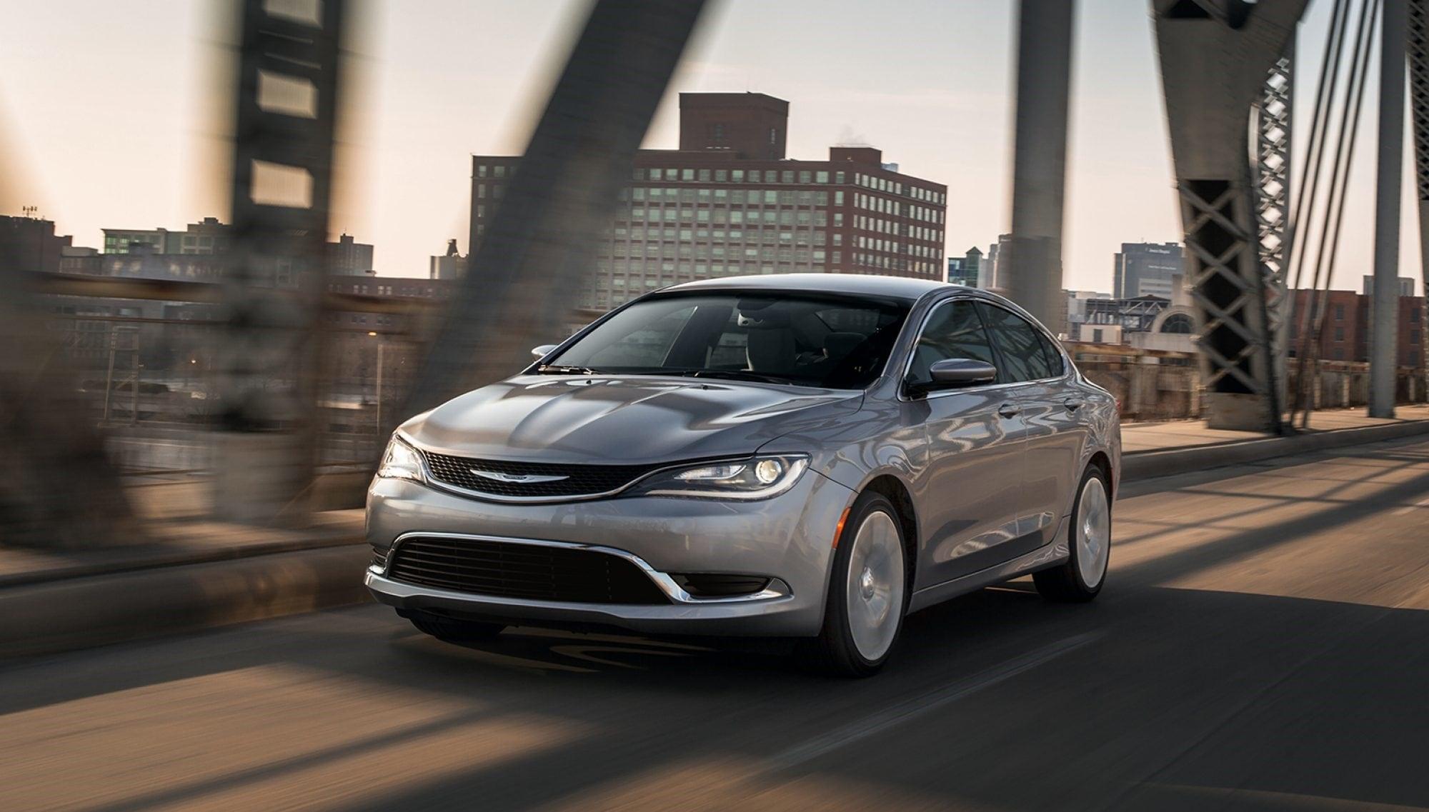 Chrysler 200: Maintaining your vehicle