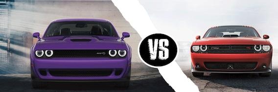 What Does Dodge Rt Stand For >> Dodge Challenger Srt Vs Challenger Rt Comparison