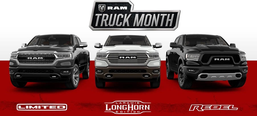 Ram Truck Month deals