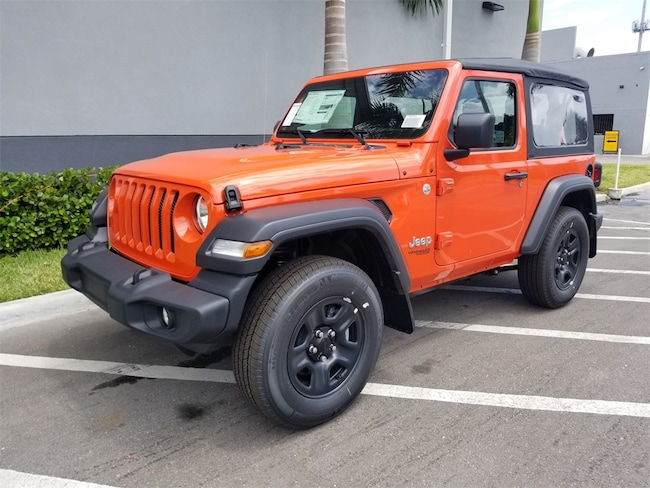 2019 Jeep Wrangler SPORT 4X4 Sport Utility in Lake Park, FL