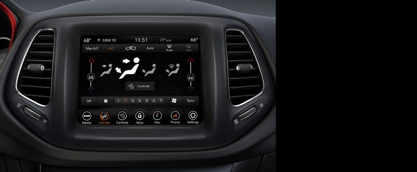 Jeep Compass inside