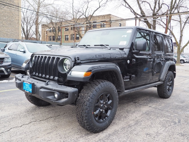 2019 Jeep Wrangler UNLIMITED MOAB 4X4 Sport Utility Chicago