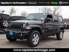 New 2019 Jeep Wrangler UNLIMITED SPORT S 4X4 Sport Utility for sale in Chicago