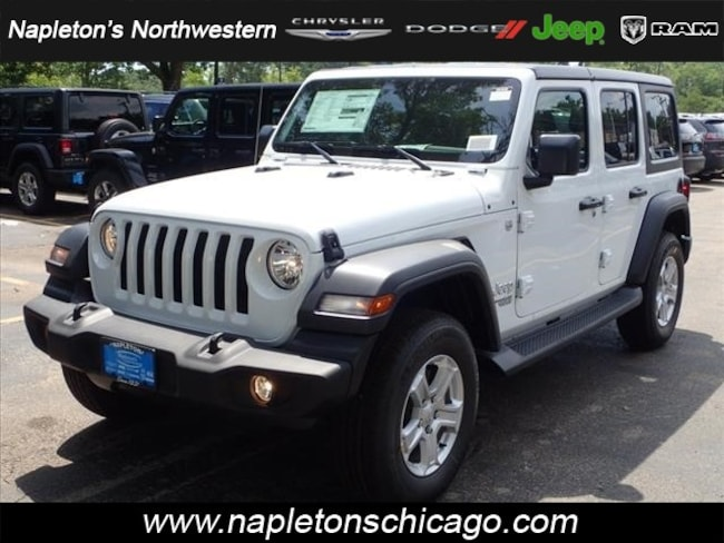 2018 Jeep Wrangler UNLIMITED SPORT S 4X4 Sport Utility Chicago