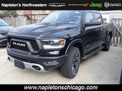New 2019 Ram 1500 REBEL CREW CAB 4X4 5'7 BOX Crew Cab for sale in Chicago