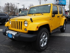 Used 2015 Jeep Wrangler Unlimited Sahara 4x4 SUV for sale in Chicago