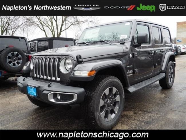 2018 Jeep Wrangler UNLIMITED SAHARA 4X4 Sport Utility Chicago