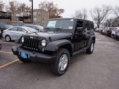 Used 2018 Jeep Wrangler JK Unlimited Sport 4x4 SUV for sale in Chicago