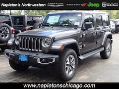 New 2018 Jeep Wrangler UNLIMITED SAHARA 4X4 Sport Utility for sale in Chicago