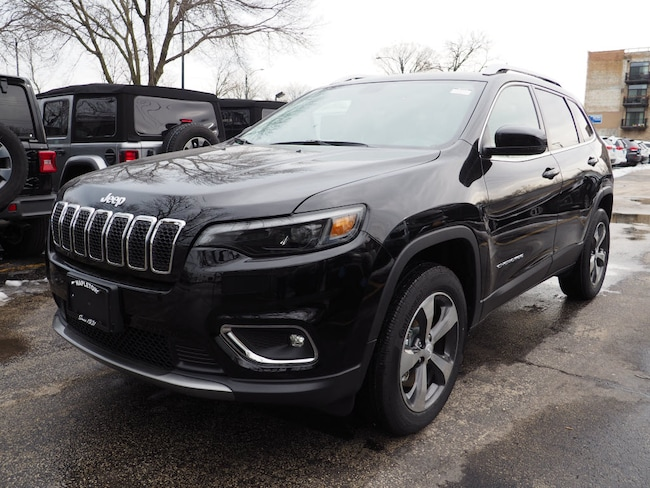 2019 Jeep Cherokee LIMITED 4X4 Sport Utility Chicago