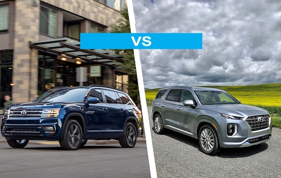 2020 vw atlas vs hyundai palisade comparison review is volkswagen atlas a good car napleton s volkswagen of orlando 2020 vw atlas vs hyundai palisade