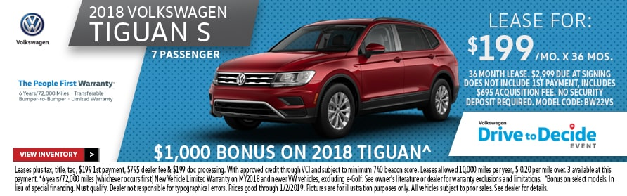 new volkswagen tiguan orlando inventory deals today
