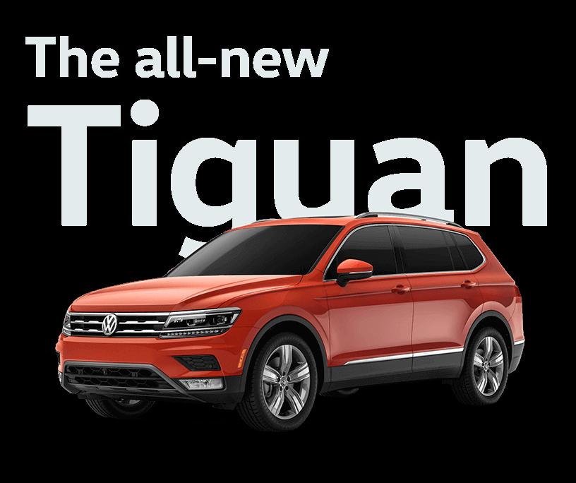 New Volkswagen Tiguan Orlando Inventory Deals Today