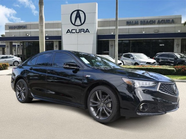 2019 Acura TLX 3.5 V-6 9-AT P-AWS with A-SPEC Sedan in West Palm Beach
