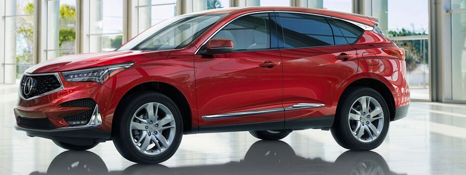 Red Acura RDX in Palm Beach