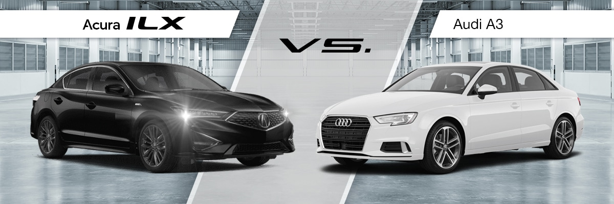 2019 Acura ILX Vs 2019 Audi A3 Comparison