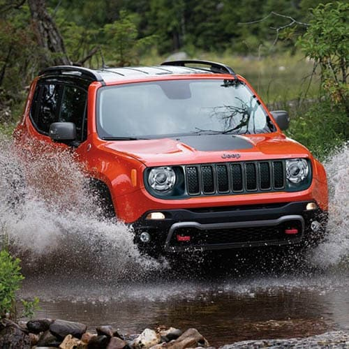 Trail-Rated 2020 Jeep Renegade Water Fording