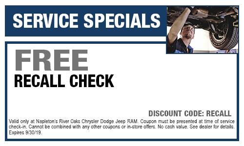 Napleton River Oaks >> Car Repair Maintenance Coupons Lansing Il Napleton