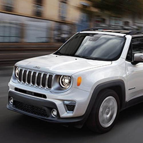 Jeep Renegade Standard Advanced Safety Technology