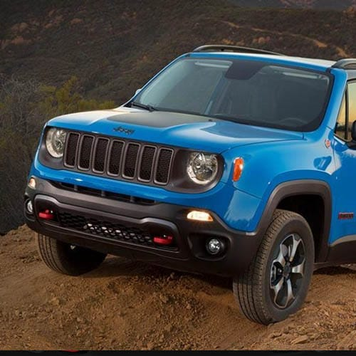 Jeep Renegade Grille and Front End