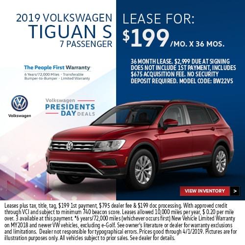 Volkswagen Lease Deals In Sanford Orlando Vw