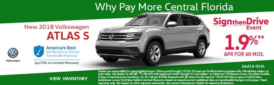 2018-Volkswagen-Atlas-For-Sale-Sanford-Fl