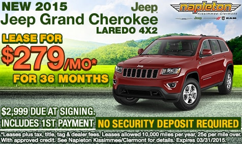 Lease Specials Napleton S South Orlando Chrysler Jeep Dodge