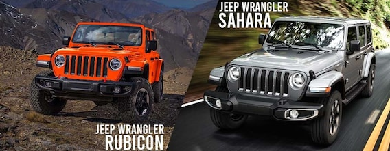 Jeep Wrangler Rubicon Vs Sahara Which Is Better Find Out