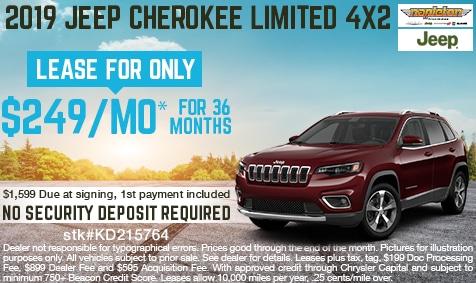 Beautiful Napleton Kissimmee Chrysler Jeep Dodge Ram, FL 2019 Jeep Cherokee Limited